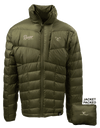 RGR7M - Men's Lightweight Packable Down Jacket (OD Green)