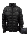 Ladies Lightweight Packable Down Jacket (Black)