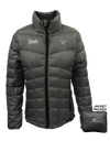 RGR9W - Ladies Lightweight Packable Down Jacket (Charcoal)