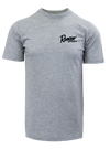 RGR92 - Graphic S/S Tee - Heather Grey -Bass