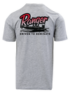 Graphic S/S Tee - Heather Grey - Red Ranger Boat