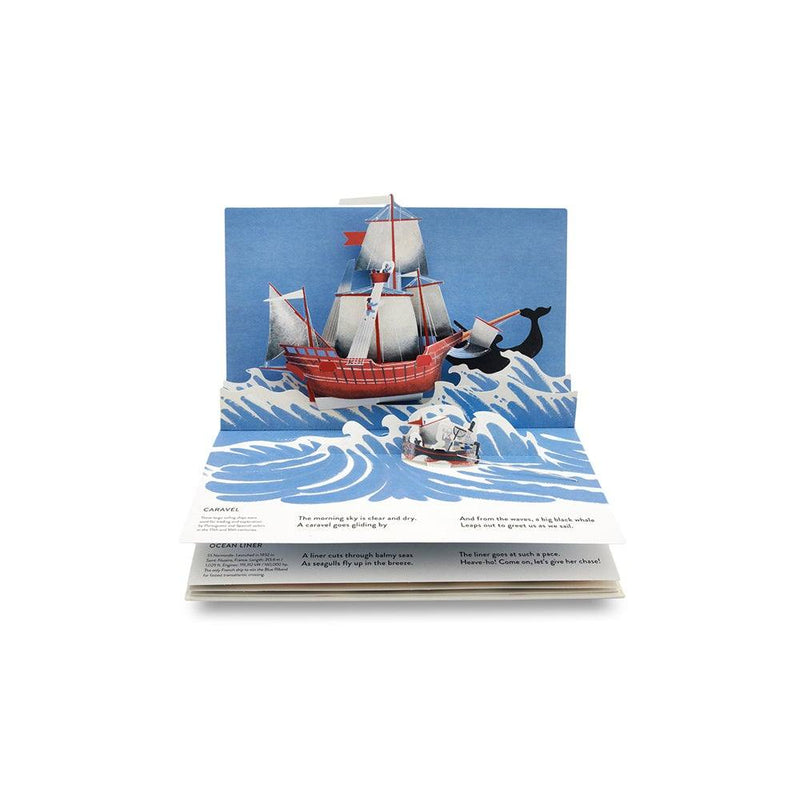 A Sea Voyage: A Pop-up Story About All Sorts of Boats - Todo Modo