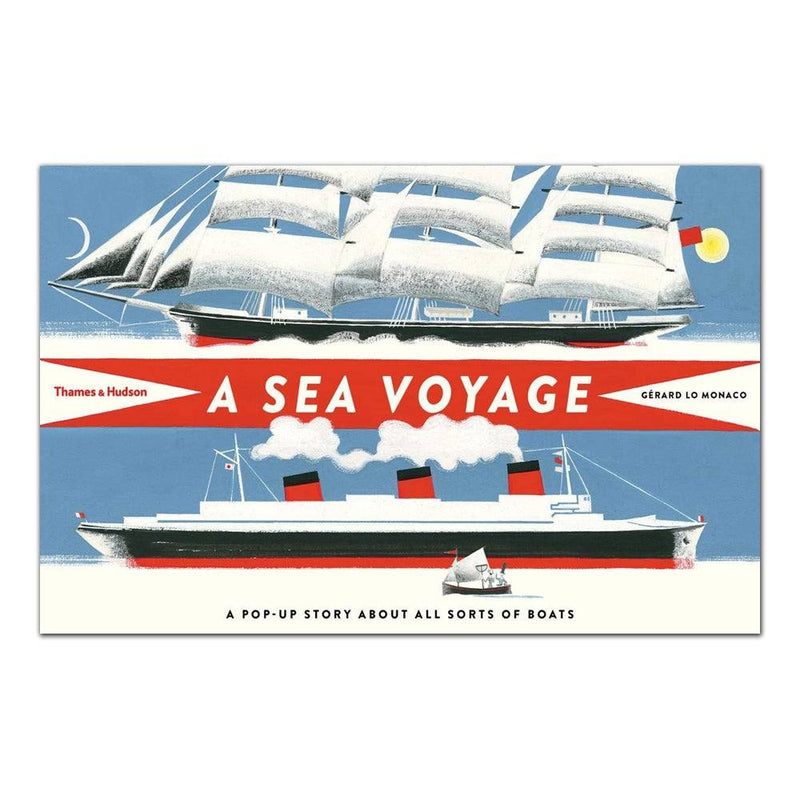 A Sea Voyage: A Pop-up Story About All Sorts of Boats