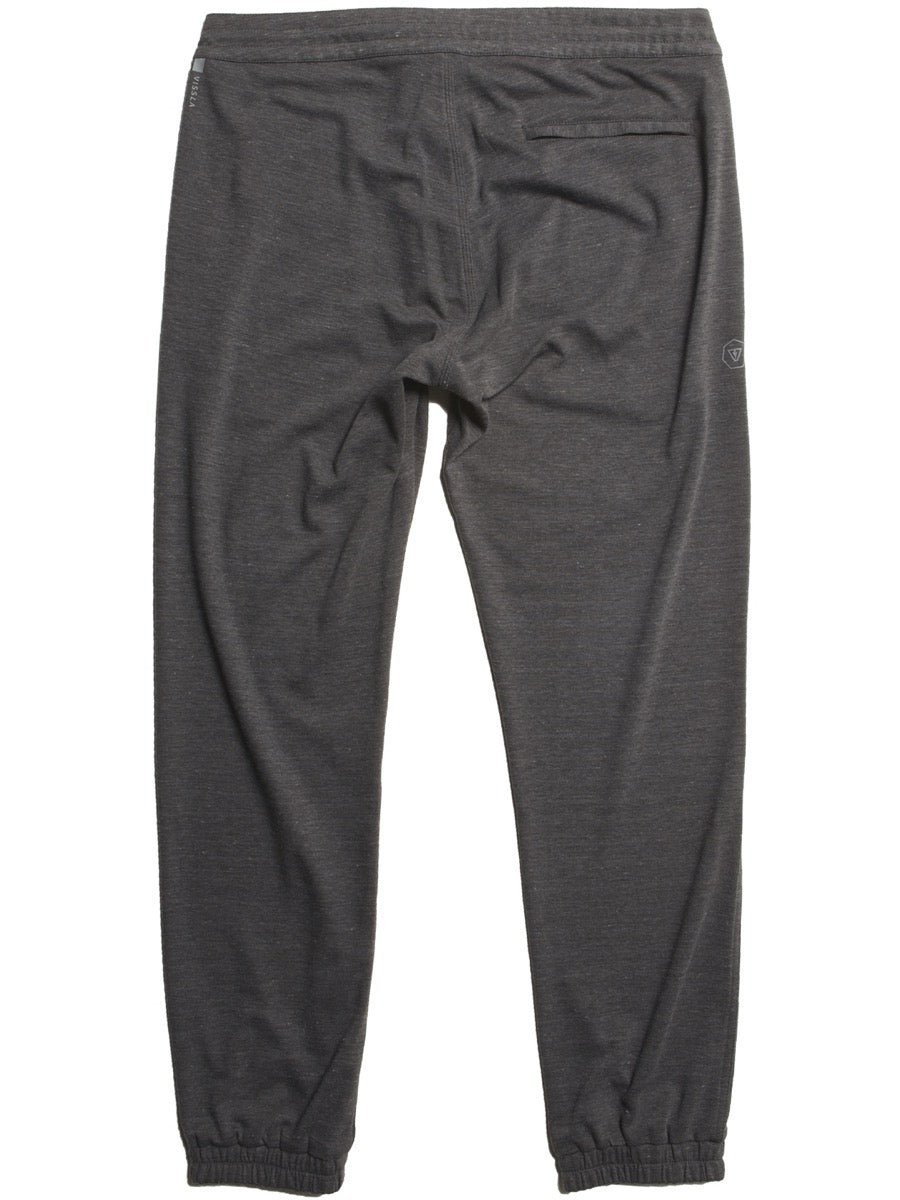 Vissla Locker Eco Sofa Surfer Pant - Black Heather