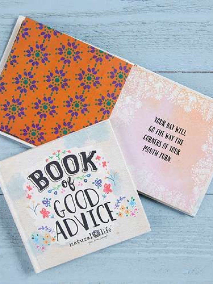 Natural Life Gift Book Book of Good Advice