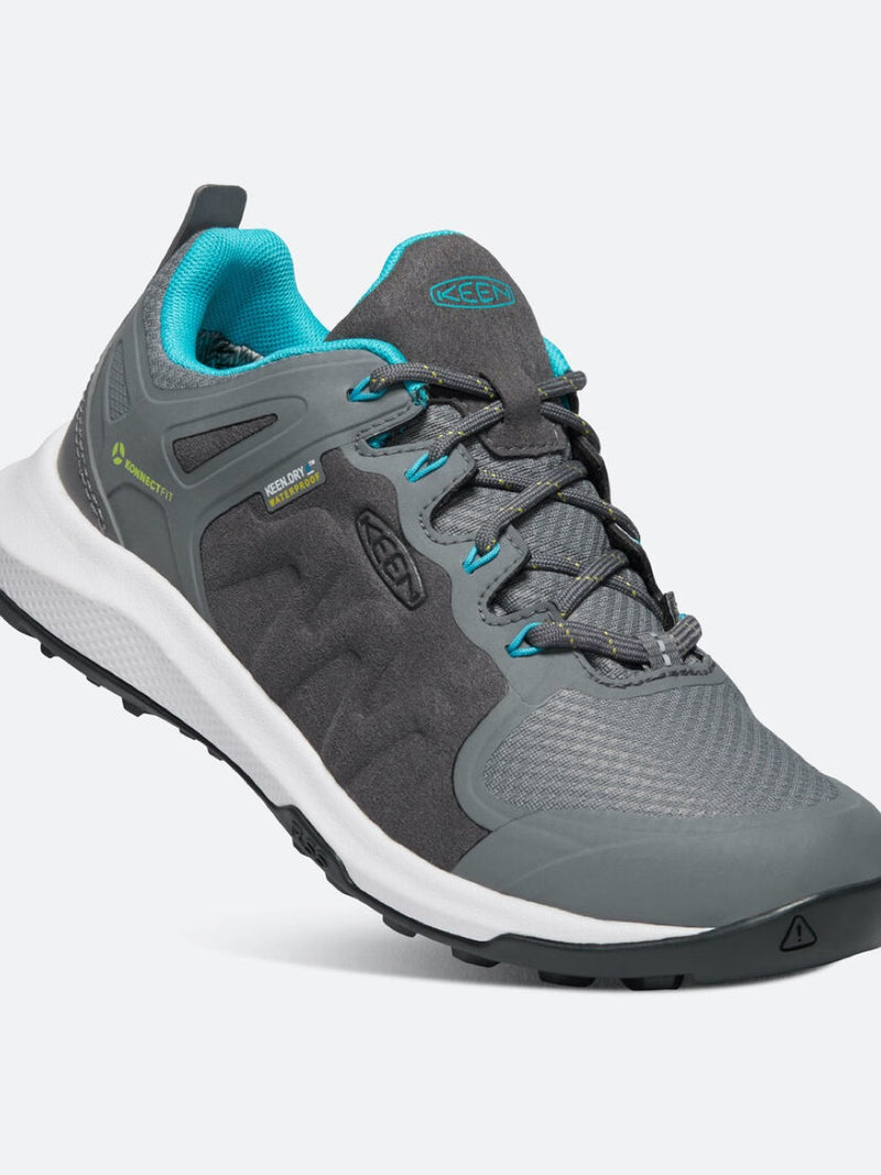 Keen Women Explore WP Steel Grey/Bright Turquoise