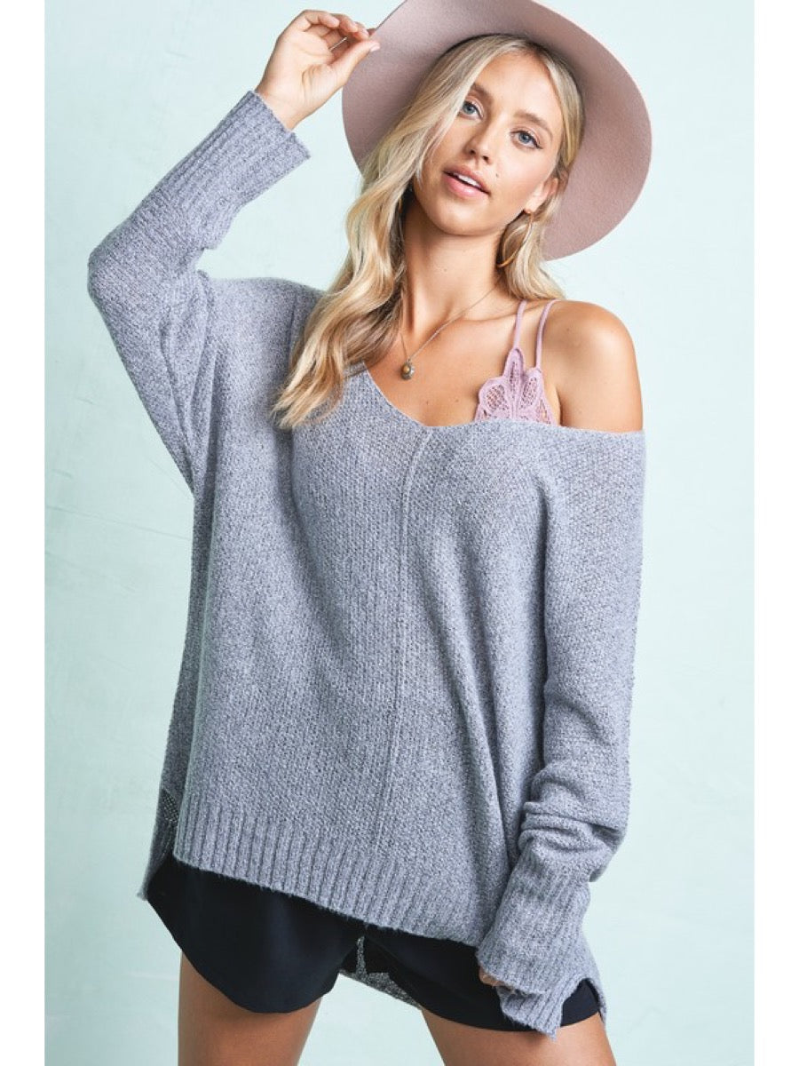 lightweight easy to wear sweater JLS3504-V7