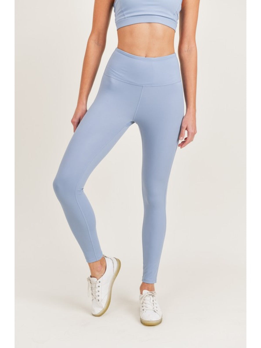 Mono B GREEN Performance Highwaist Leggings APH8026