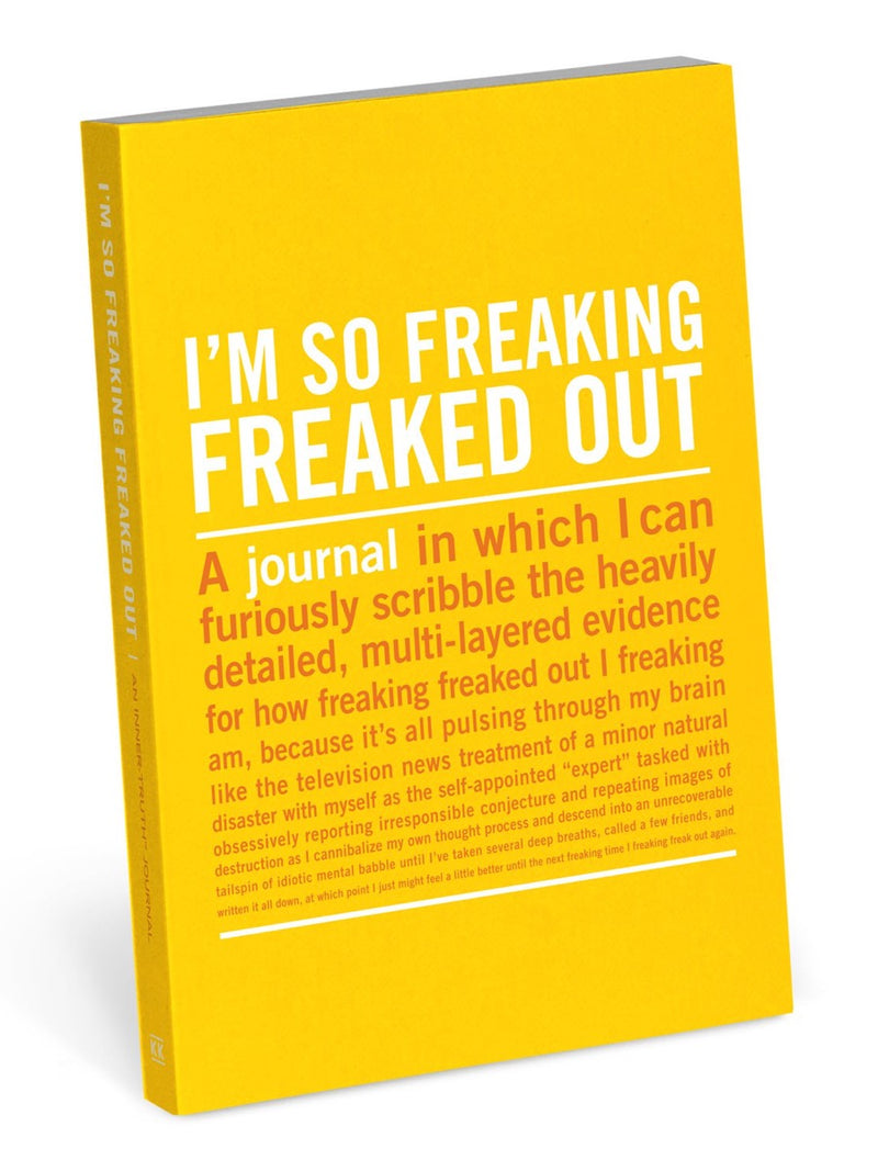 Knock Knock Mini Journal Freaked Out