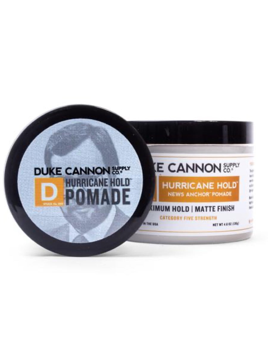 Duke Cannon News Anchor Hurricane Hold Pomade