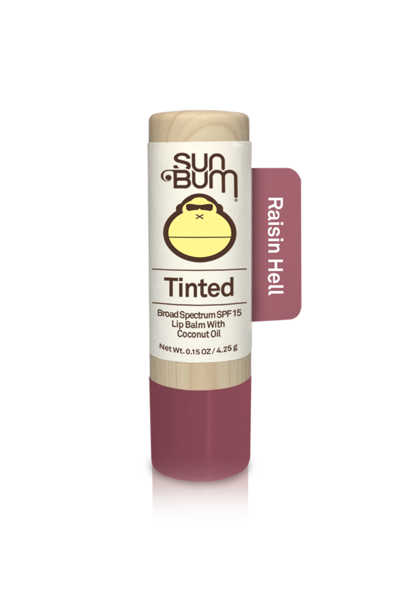 Sun Bum Tinted Lip Balm SPF 15 Raisin Hell