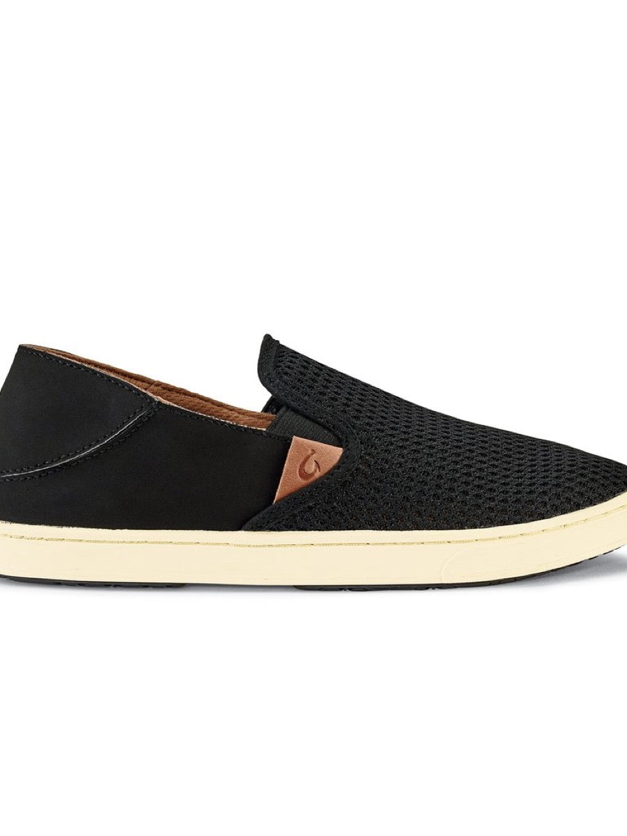 Olukai Women Pehuea Slip On -Black