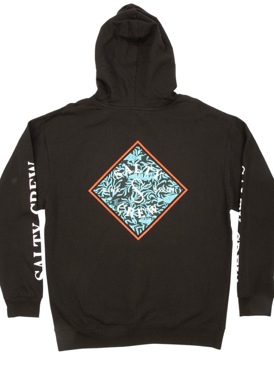 Salty Crew Tippet Topsail Hood Fleece - Black