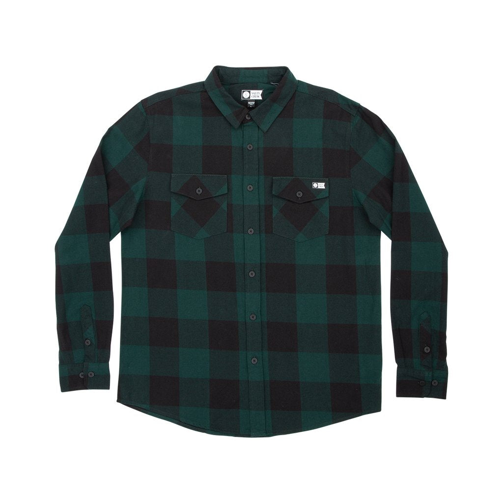 Salty Crew Buffer Flannel - Alpine