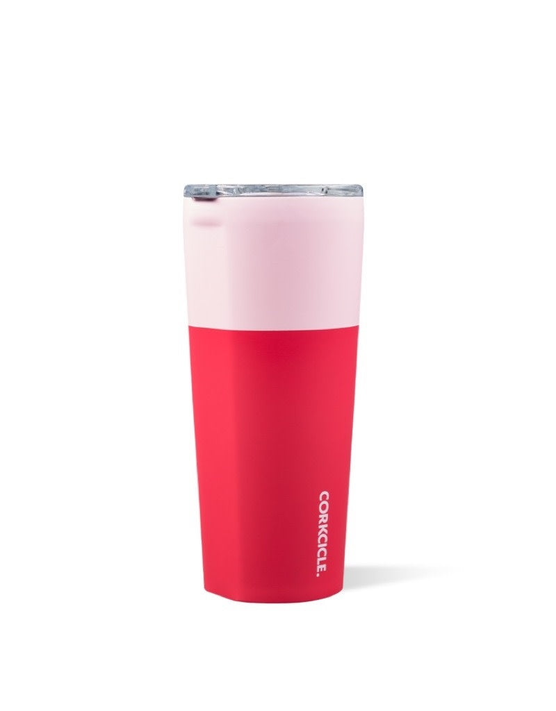 Corkcicle Tumbler Color Block -Shortcake