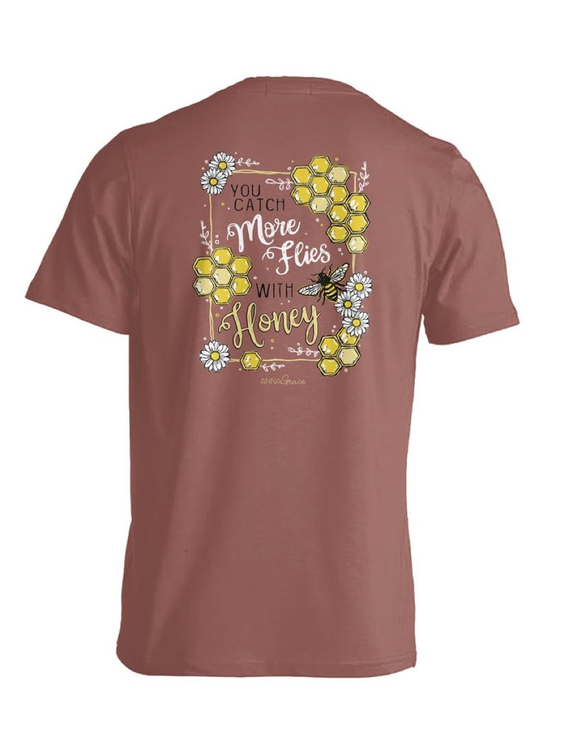 Anna Grace Tee Honeycomb - Comfort Color