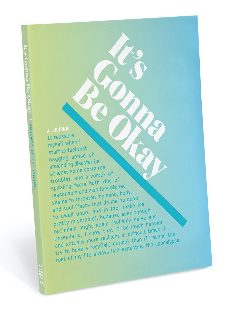 Knock Knock It's Gonna Be Okay Inner-Truth® Journal (Ombre Edition)