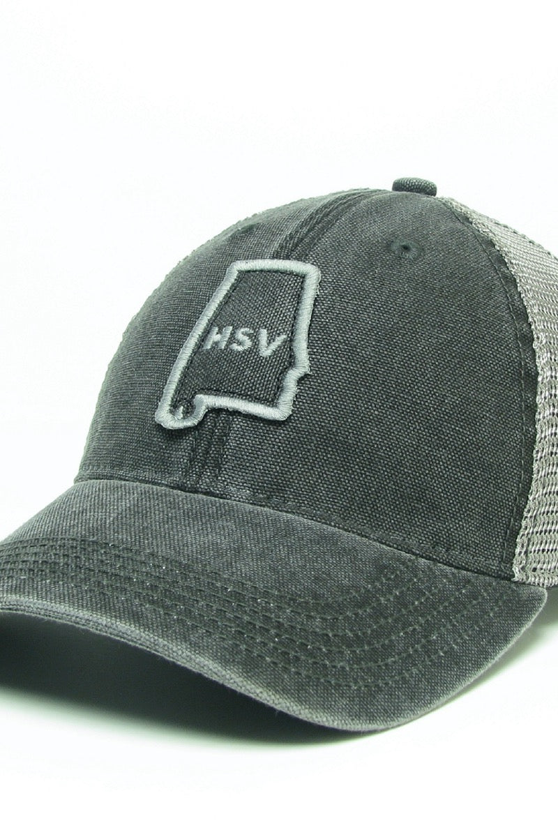 LIC Hat State HSV Charcoal
