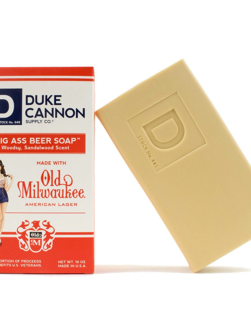 Duke Cannon Big Ass Beer Soap Pin Up