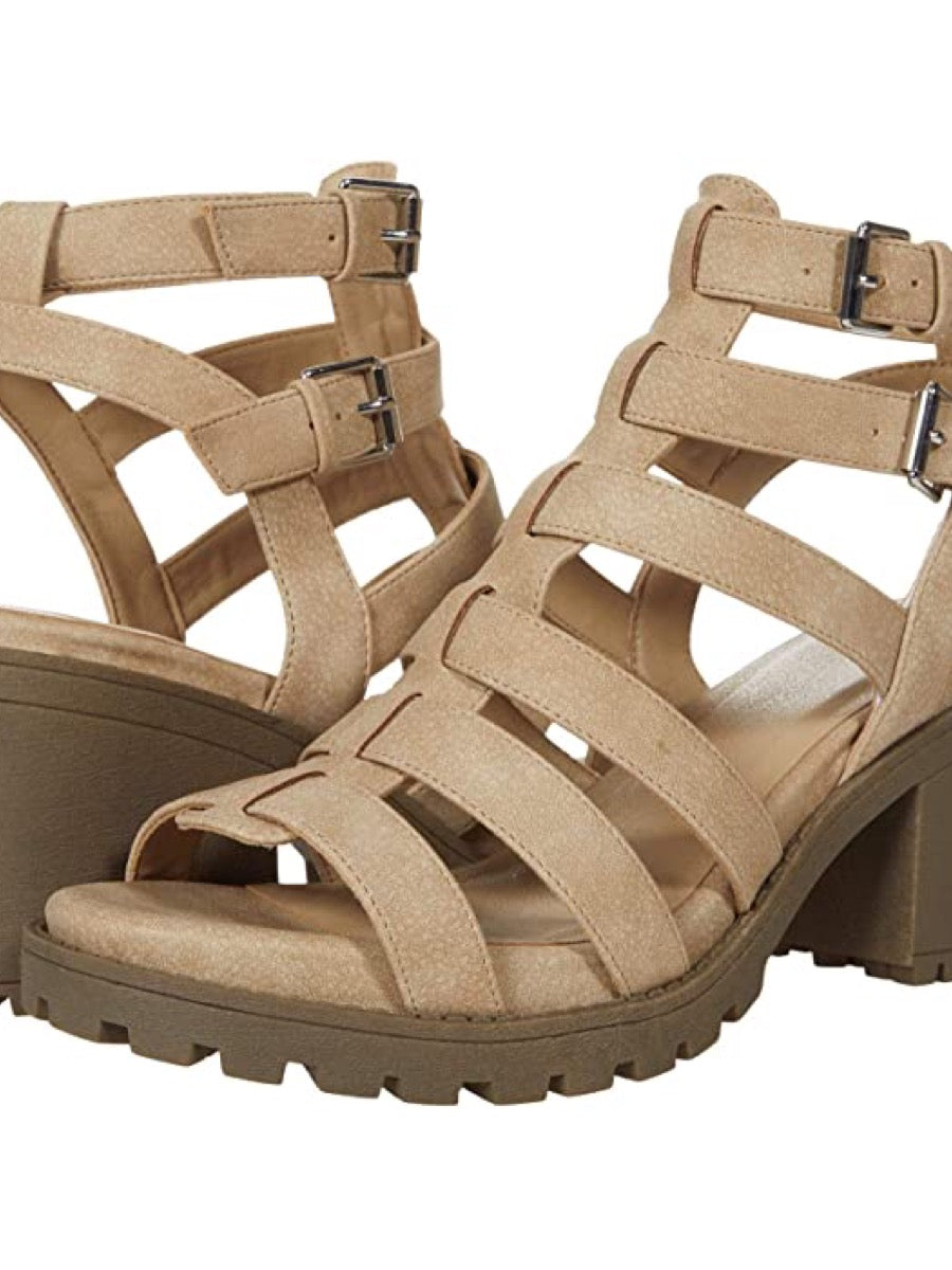 Dirty Laundry Women's Fun Stuff Heeled Sandal Natural
