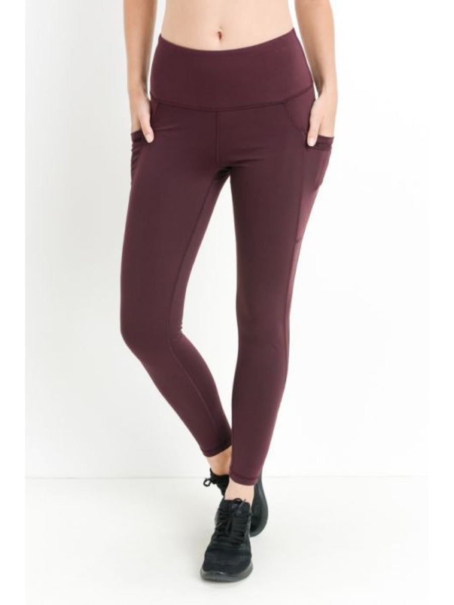 Mono B Superlux legging aph6100 Plum