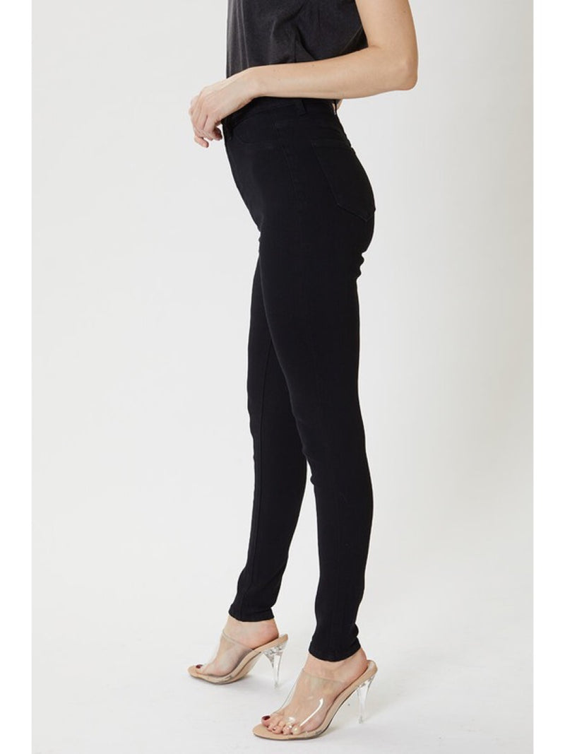 Gemma High Rise Black Jean