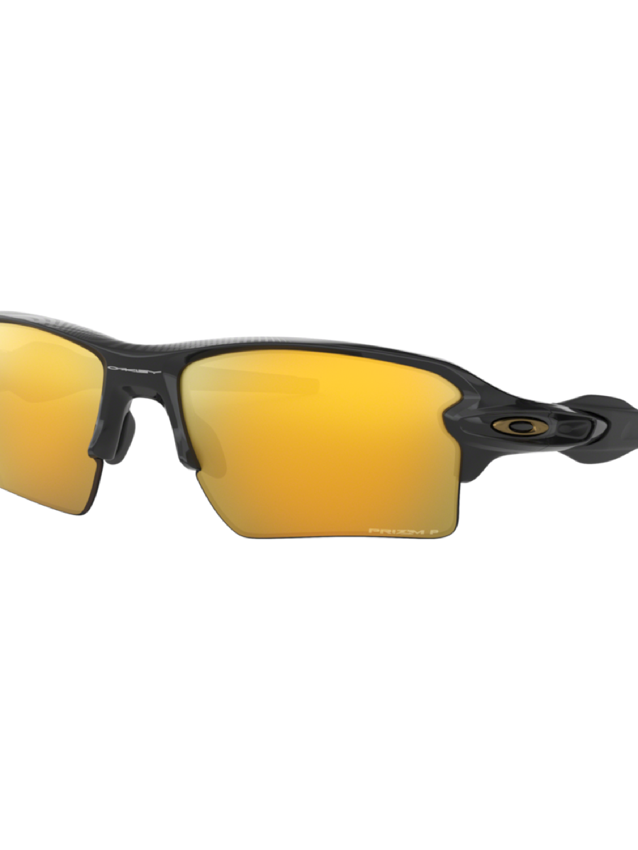 Oakley FLAK 2.0 XL POLISHED BLACK w/ PRIZM 24K POLARIZED LENS 59