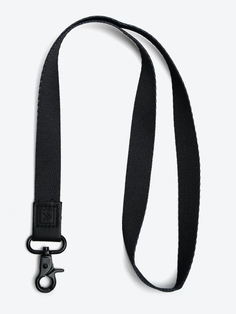 Thread Neck Lanyard Black