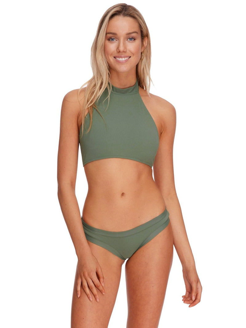 Body Glove Ibiza Ingrid Halter Swim Top Cactus -Large