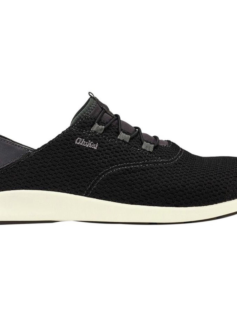 Olukai Men 'Alapa Li Shoe Black/Dk Shadow