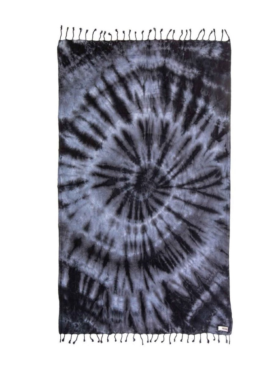Sand Cloud  Black Acid Wash Towel