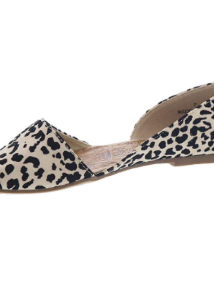 Blowfish Malibu Madera Natural Leopard Flat