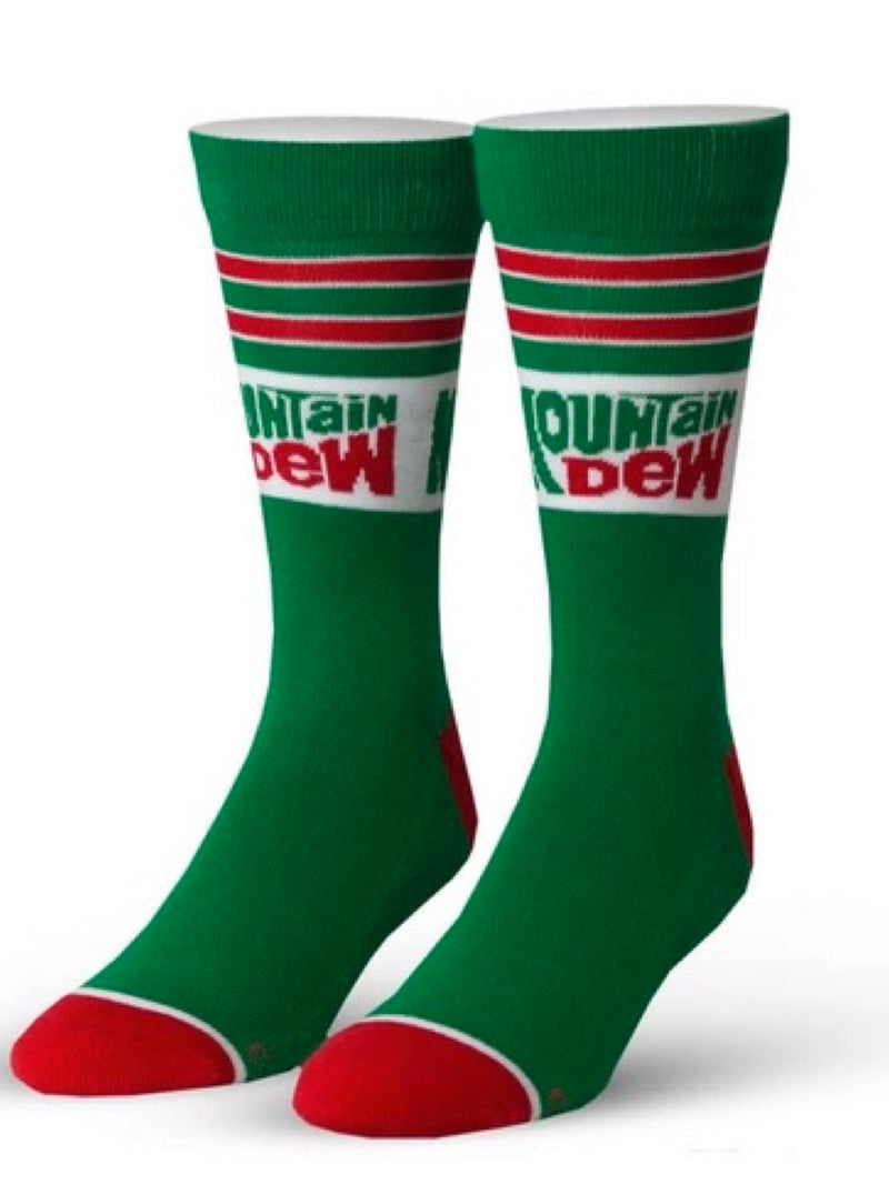 Unisex Cool Socks Mt Dew