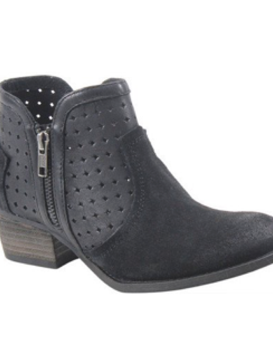 Diba True Show Tunes Booties Black/Black