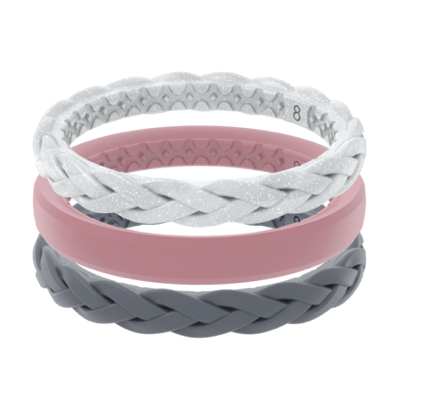 Groove Women's Air Stackable Ring--Serenity