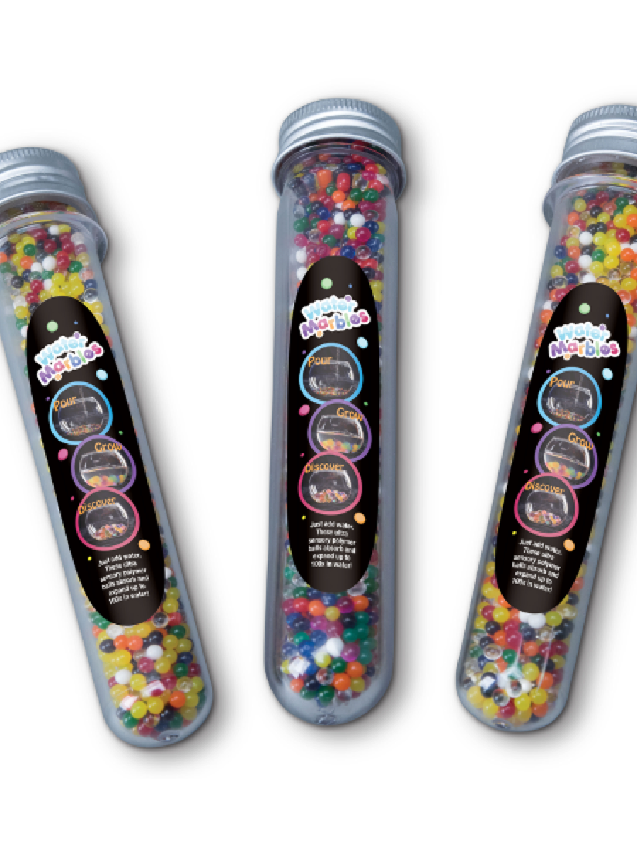 Heebie Jeebies Test Tube  Water Marbles