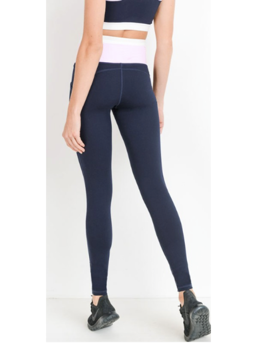 Highwaist Dual Color Legging