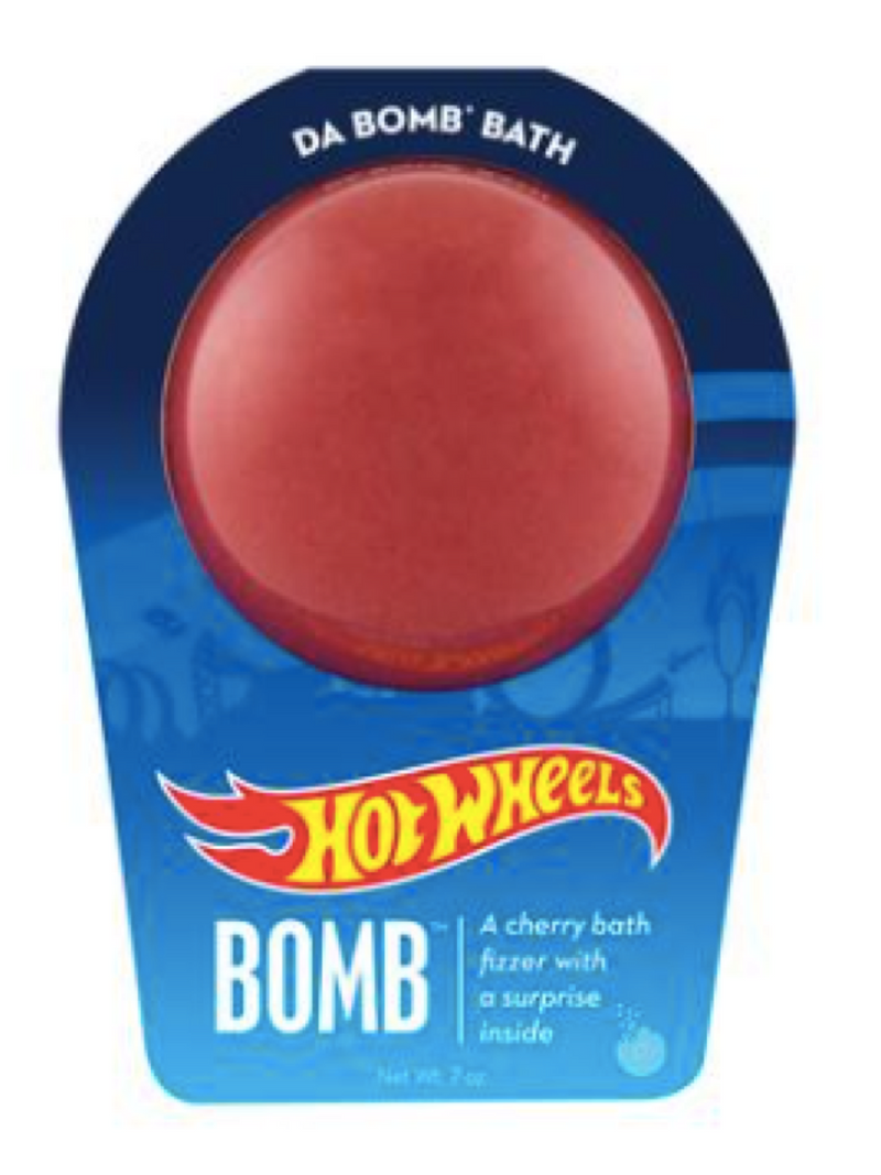 da Bomb Bath Fizzers Hot Wheels Red