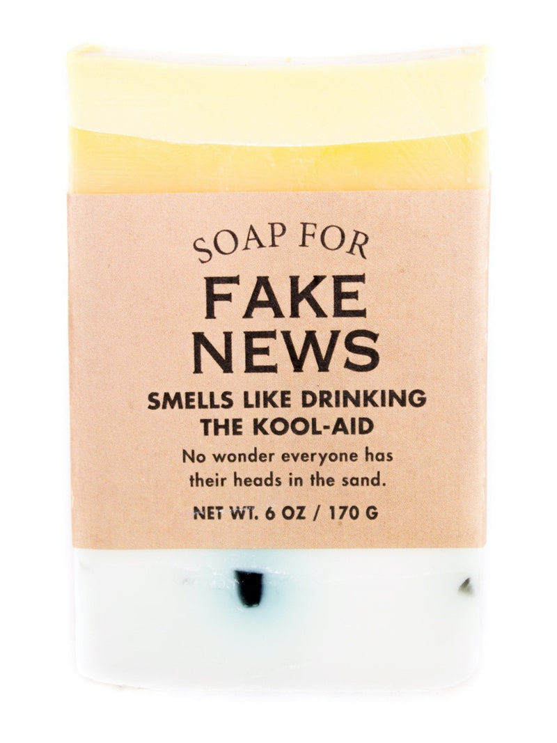 Whiskey River Soap For: Fake News
