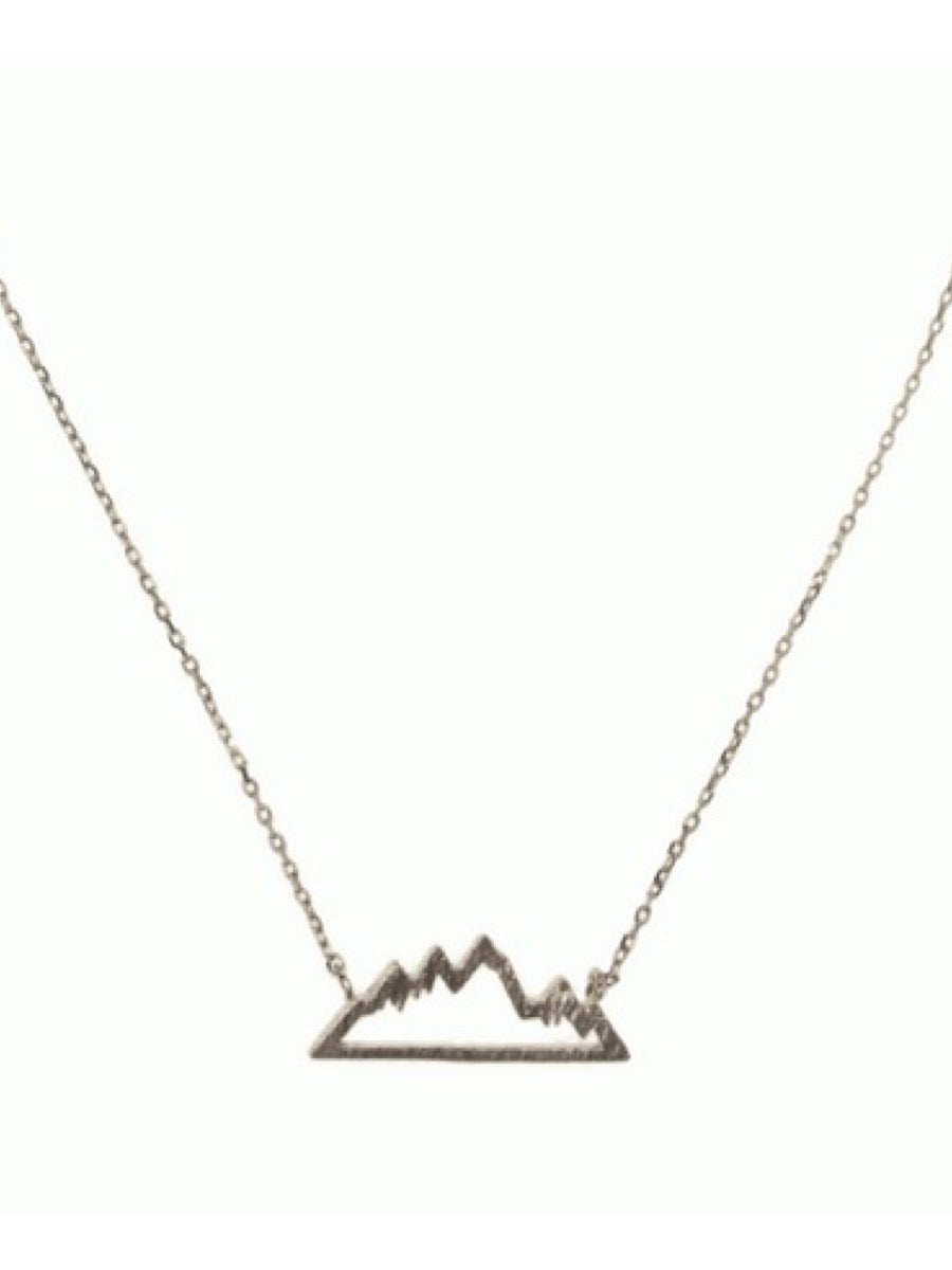 Joy Susan Mountainscape Necklace