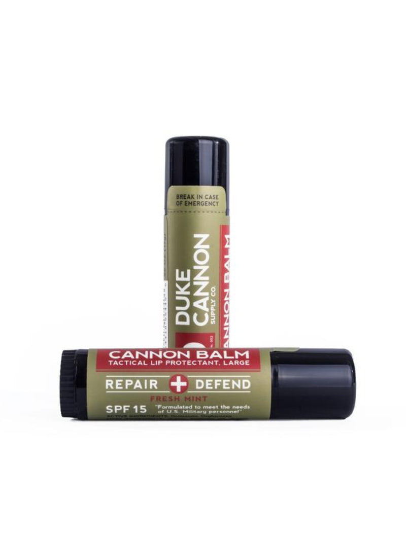 Duke Cannon Balm Tactical Lip Protectant SPF 15