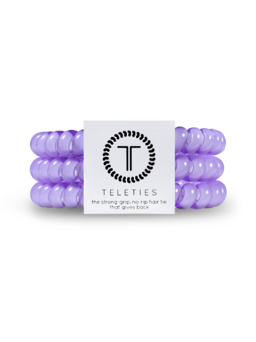 Teleties  Small 3 Pack Hair Ties Lilac