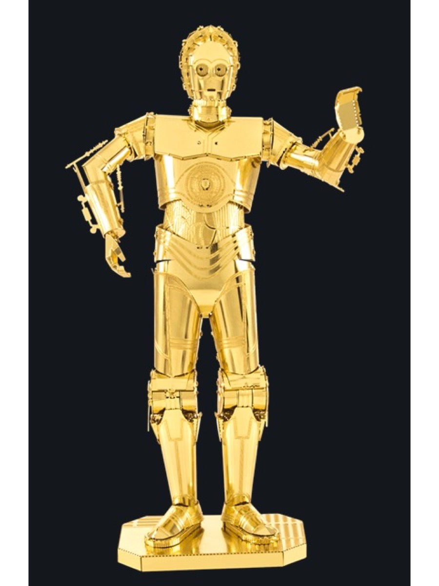 Metal Earth 3D Model Kit: Gold C-3PO