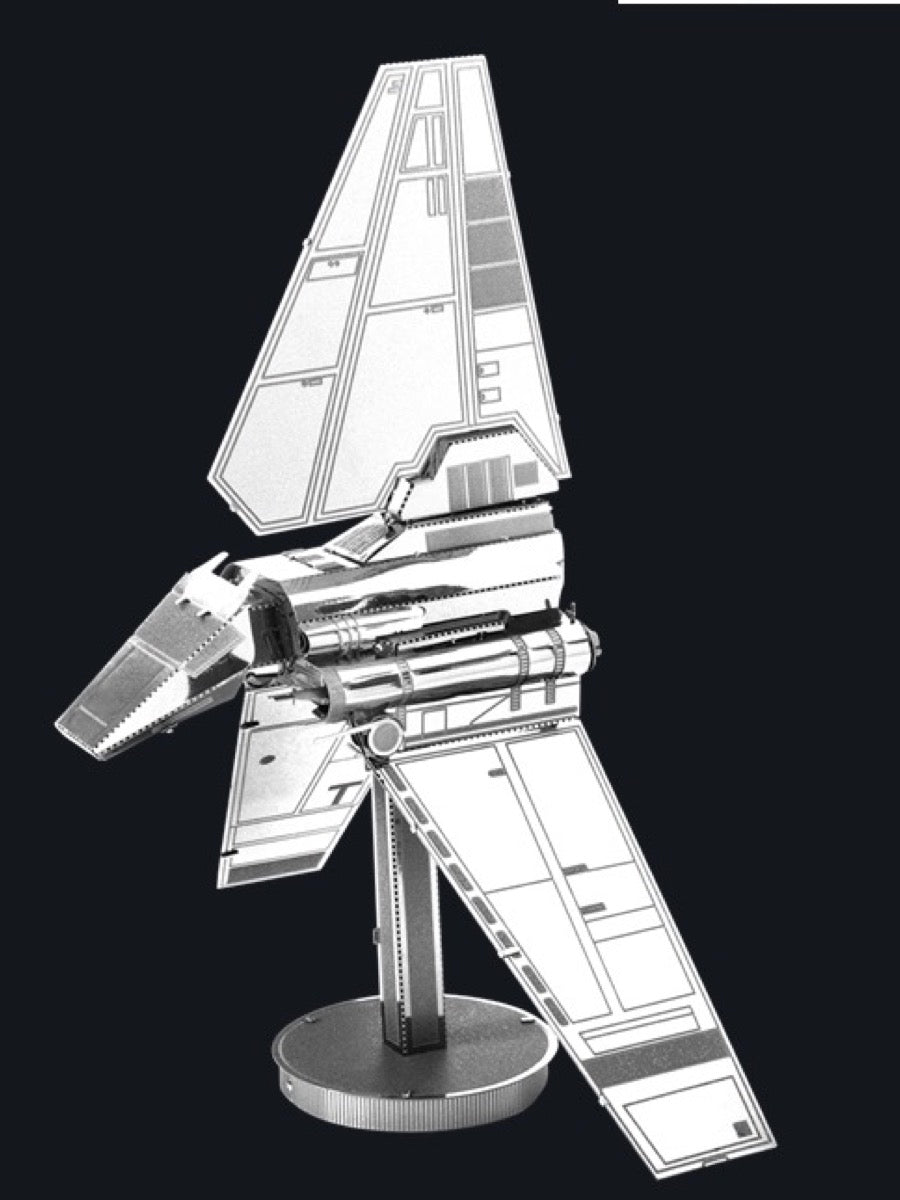 Metal Earth 3D Model Kit: Imperial Shuttle