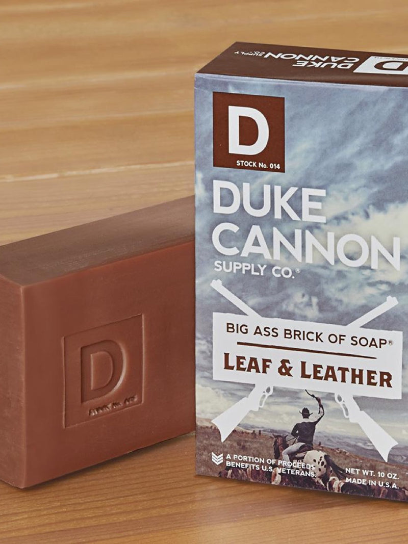 Duke Cannon Big Brick of Soap Leaf and Leather