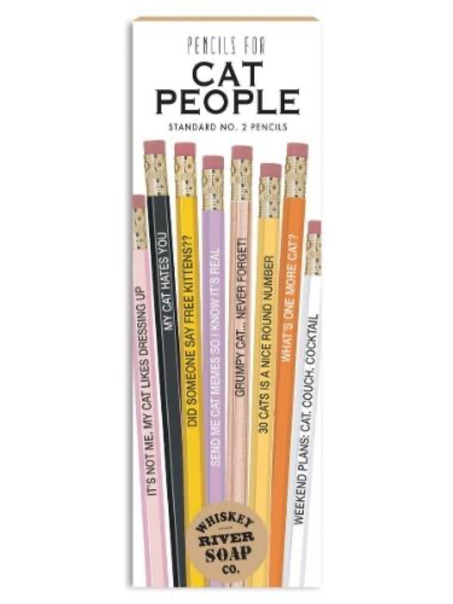 Whiskey River Pencils  Cat People