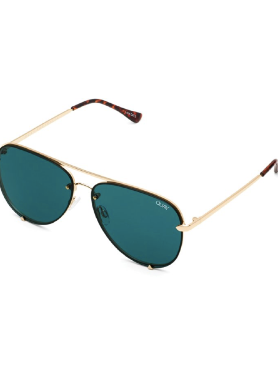 Quay Sunglasses High Key Mini Rimless