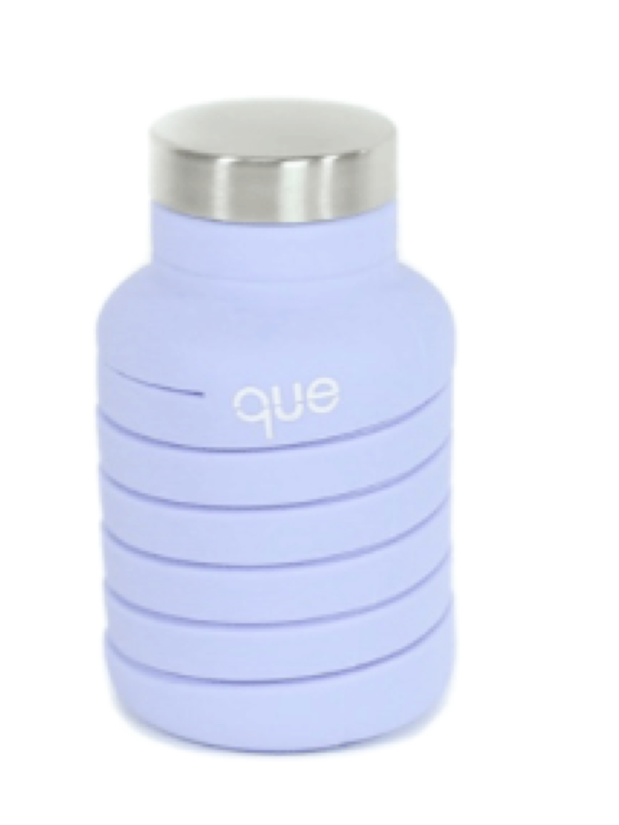 Que 20oz Water Bottle Lilac Purple