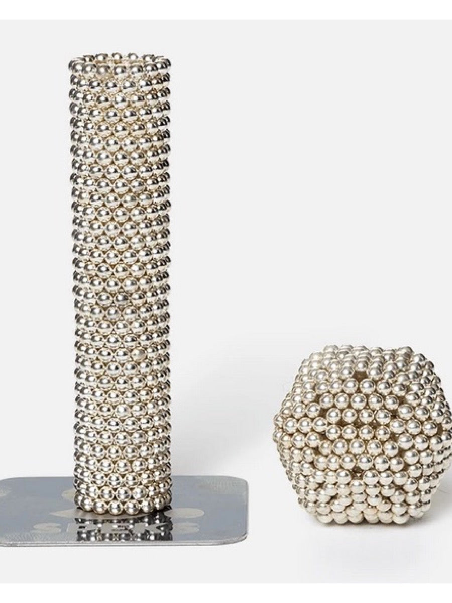 SPEKS. 512 Magnetic Ball Set-Luxe Silver
