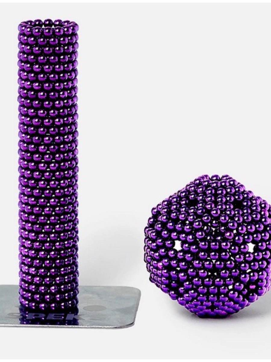 SPEKS. 512 Magnetic Ball Set-Purple